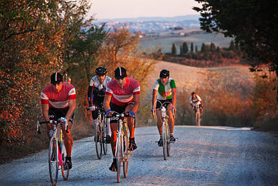 Photograph - L'eroica-italy by John Galbo