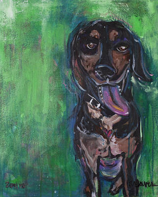 Painting - Leroy by Laurie Maves ART
