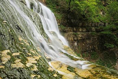 Keith Richards - Les cascades du Herisson-Jura-France by Mircea Costina Photography