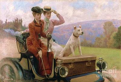 Painting - Les Dames Goldsmith by Pg Reproductions