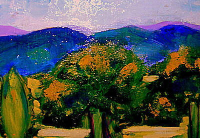 South Of France Painting - Les Sombres D'apres Midi by Rusty Woodward Gladdish