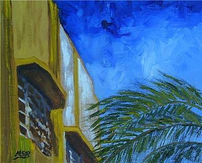Painting - Lesley Hotel by Maria Soto Robbins