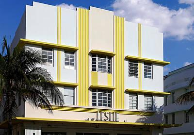 Photograph - Leslie Hotel 2. Miami. Fl. Usa by Juan Carlos Ferro Duque