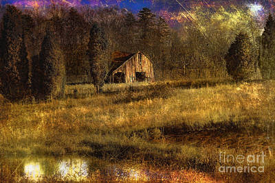Rural Decay Digital Art - Less Than Perfect by Sari Sauls