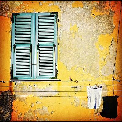House Photograph - Let It All Hang Out #italy #wall by A Rey