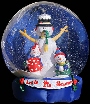 Eve Photograph - Let It Snow by Christine Till