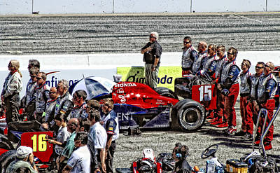 Photograph - Let The Races Begin by Donna Blackhall