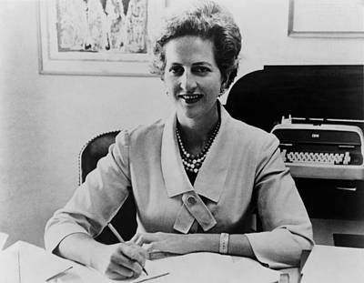 Letitia Baldrige, First Lady Jacqueline Print by Everett