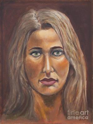 Letitia Art Print by Bruce Lum
