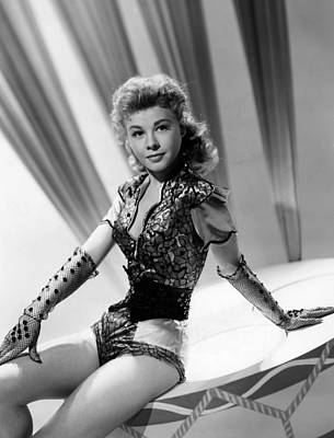 1957 Movies Photograph - Lets Be Happy, Vera-ellen, 1957 by Everett