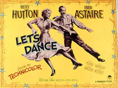 Fid Photograph - Lets Dance, Betty Hutton, Fred Astaire by Everett