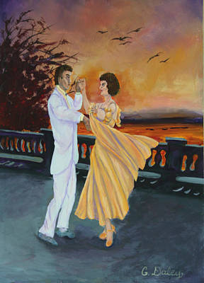 Let's Dance Art Print by Gail Daley