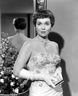 Long Necklace Photograph - Lets Do It Again, Jane Wyman, 1953 by Everett