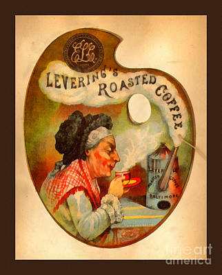 Levering's Roasted Coffee Art Print by Anne Kitzman