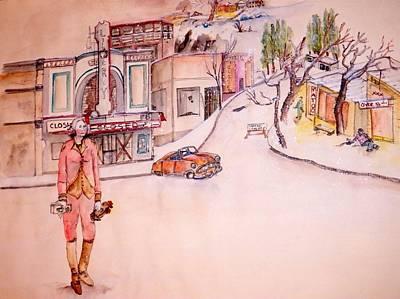 Lewiston As A Ghost Town Art Print