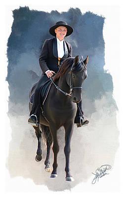 Lexington Horse Parade Original by Tom Schmidt