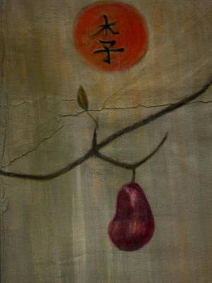 Pear Mixed Media - Li by Joseph Ferguson