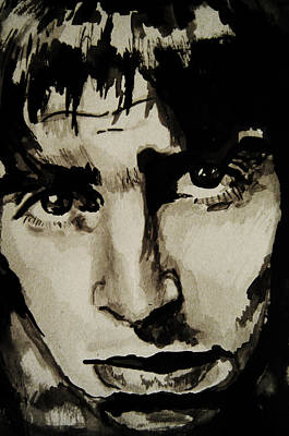 Musicians Drawings - Liam by Molly Picklesimer