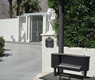 Photograph - Liberace's Driveway by Randall Weidner