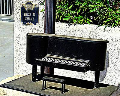 Photograph - Liberace's Mailbox by Randall Weidner