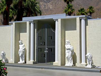 Photograph - Liberace's Statuary by Randall Weidner