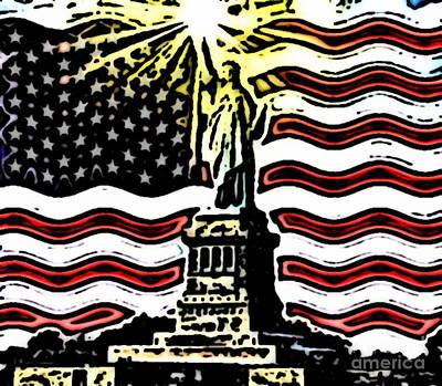 Liberty And Glory Art Print