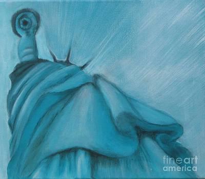 Liberty Art Print by Annemeet Hasidi- van der Leij