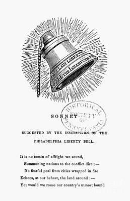 Liberty Bell, 1839 Art Print