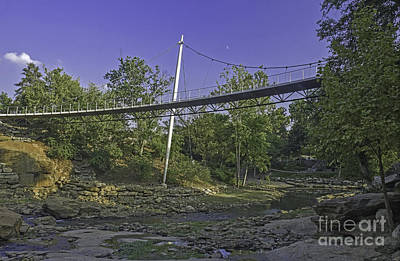 Photograph - Liberty Bridge Over Reedy by David Waldrop