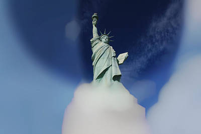 Statue Of Liberty Replica Photograph - Liberty by Douglas Barnard