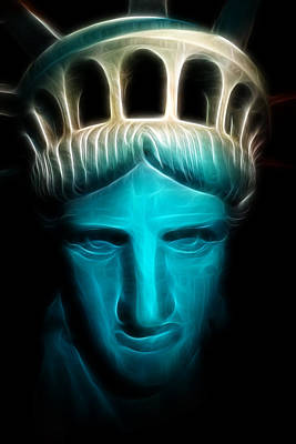 Photograph - Liberty Enlightening The World - Statue Of Liberty - Usa - America by Lee Dos Santos