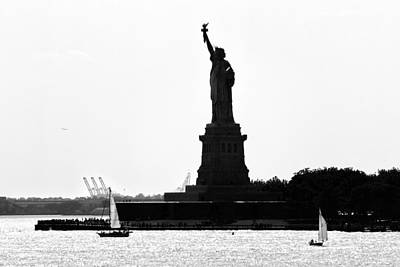 Liberty Island Art Print by Artistic Photos