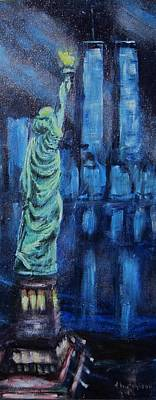 Painting - Liberty Remembers by Don Hutchison