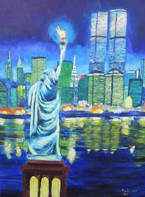 Painting - Liberty's Tribute by Don Hutchison