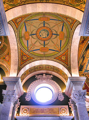 Library Of Congress I Art Print by Steven Ainsworth
