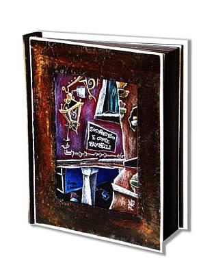 Libri D'artista Venezia - D'arte Illustrazione - Libro Degli Ospiti Invitati Al Matrimonio Hotel Original by Arte Venezia