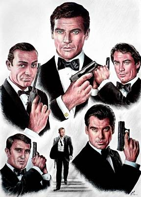 Craig Digital Art - Licence To Kill  Digital by Andrew Read