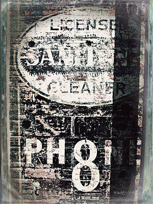 Photograph - Licensed To Clean by Paulette B Wright