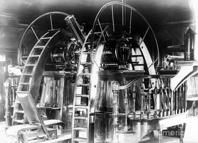 Lick Observatory Photograph - Lick Observatory, Meridian Instrument by Science Source