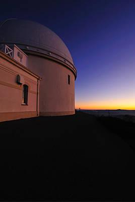 Lick Observatory Art Print by Richard Leon