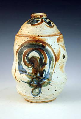 Lidded Jar 8 Art Print by Alejandro Sanchez
