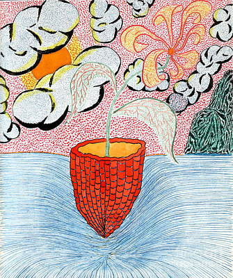 Life A Jug A Vessel Art Print by Yury Bashkin