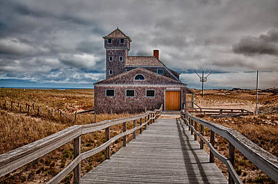 Photograph - Life Guard Station by Fred LeBlanc