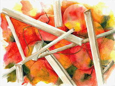 Painting - Life Is Not A Bowl Of Cherries by Rhonda Hancock