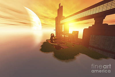 Life On Another World Art Print