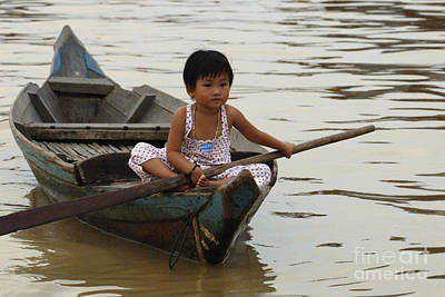 Photograph - Life On Lake Tonle Sap 2 by Bob Christopher