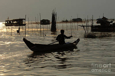 Photograph - Life On Lake Tonle Sap 7 by Bob Christopher