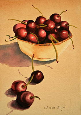 Art Print featuring the painting Life by Teresa Beyer