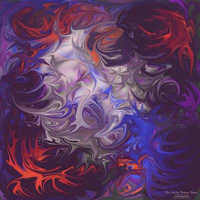 Digital Art - Life Thorns by Barbara Burns