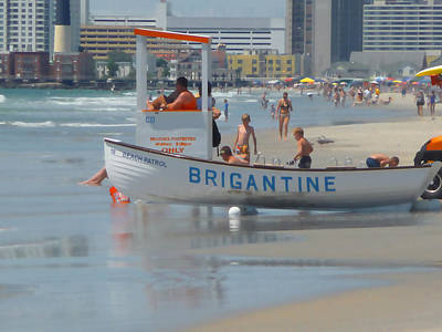 Photograph - Lifeguard At The Shore by Margie Avellino